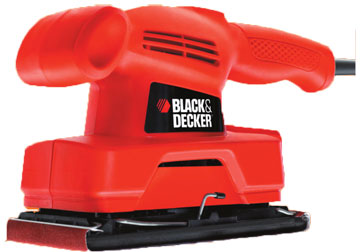 92 x 230mm Máy chà nhám 135W Black and Decker KA300